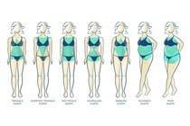 Graphic Design Entri Peraduan #30 for Illustration Design for female body shapes/ types