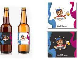 Nro 35 kilpailuun We need a Design for a Beer Bottle Label käyttäjältä dima777d