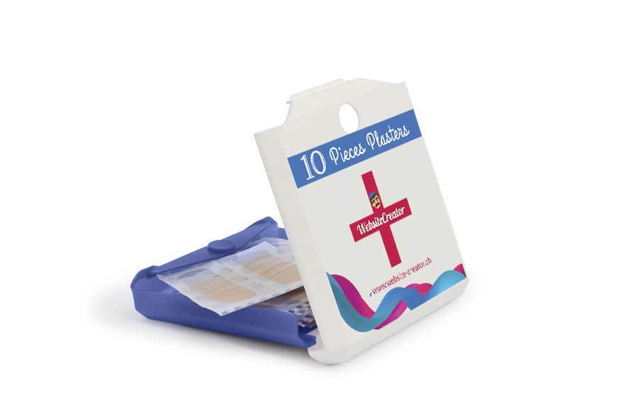 Kilpailutyö #19 kilpailussa Design a promotional plaster box