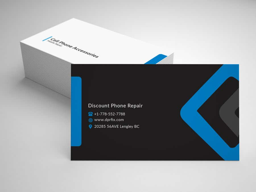 Entry 53 By Mdazad410 For Need A Business Card Design For Cell