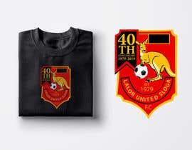Číslo 44 pro uživatele 40th Anniversary Logo - Lalor United FC od uživatele lucianito78