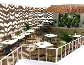 #62 para Make 3d renderings for a small vegan/bar restaurant. por arqfernandezr