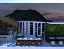 #57 para Make 3d renderings for a small vegan/bar restaurant. por danicapua