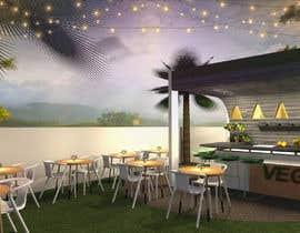 #24 para Make 3d renderings for a small vegan/bar restaurant. por monikagorska1991