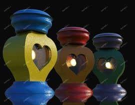#23 dla Projekt ZNICZA na grób w kształcie serca. przez IhorKozodoy
