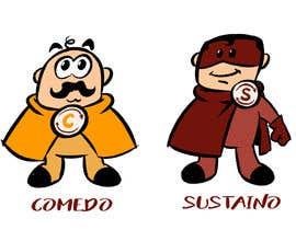 """#64 для Design two """"cartoon-super-hero-funny"""" characters от zuart"""