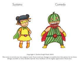 "#6 для Design two ""cartoon-super-hero-funny"" characters от TanbinHassan"