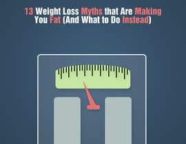 #20 untuk Design Simple Ebook Cover for Weight Loss Ebook oleh TDuongVn