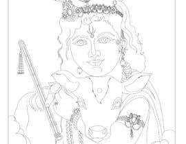 #15 untuk Line vector of Indian Gods from reference Photos using Adobe Illustrator oleh Sandipan01