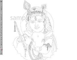 #14 untuk Line vector of Indian Gods from reference Photos using Adobe Illustrator oleh Dylanteoh
