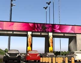 #5 для 3D Max Project (LED Screen on bridge) от Arpit1113