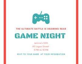 #6 para Game night invitations por chicville
