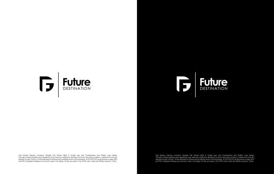 Contest Entry #133 for I want a logo designed. The name of my company is Future Destination. It is a company that for information technology provides development mobile and website applications and also i want to note that i want to use the logo with another projects