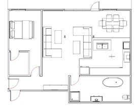 #19 для Floorplan for luxury vacation apartment от bilro
