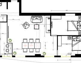 #21 для Floorplan for luxury vacation apartment от lizatimchenko
