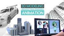 "Graphic Design Intrarea #4 pentru concursul ""1600x900 resoution graphic/poster design- 3D Theme"""