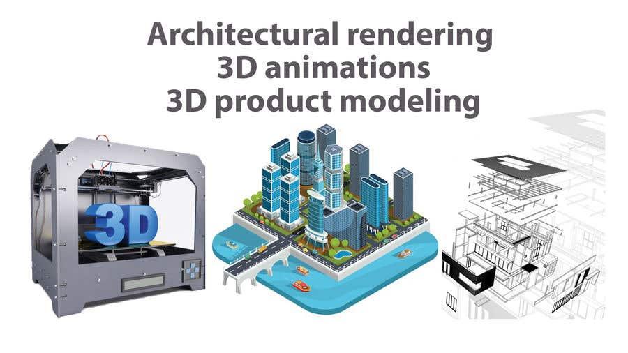 """Intrarea #9 pentru concursul """"1600x900 resoution graphic/poster design- 3D Theme"""""""