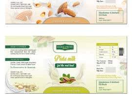 #26 for Design a label for  bottled milk juices by biswasshuvankar2