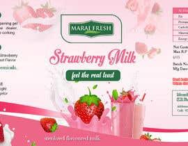 #33 for Design a label for  bottled milk juices by biswasshuvankar2