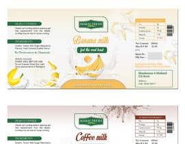 #41 for Design a label for  bottled milk juices by biswasshuvankar2