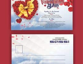 #36 for Adobe Illustrator Press Ready Postcard sized flyer for Valentine's Day by meenapatwal