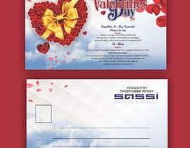 #36 para Adobe Illustrator Press Ready Postcard sized flyer for Valentine's Day por meenapatwal