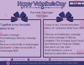 #16 for Adobe Illustrator Press Ready Postcard sized flyer for Valentine's Day by reshmaguptanag