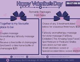 #16 para Adobe Illustrator Press Ready Postcard sized flyer for Valentine's Day por reshmaguptanag