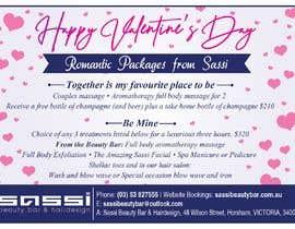 #20 para Adobe Illustrator Press Ready Postcard sized flyer for Valentine's Day por pkshankara