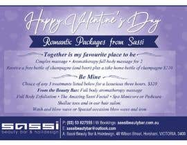 #21 for Adobe Illustrator Press Ready Postcard sized flyer for Valentine's Day by pkshankara