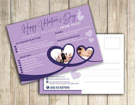 #24 for Adobe Illustrator Press Ready Postcard sized flyer for Valentine's Day by amcgabeykoon