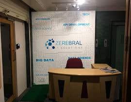 Nro 49 kilpailuun Reception area backdrop design käyttäjältä btnavarro