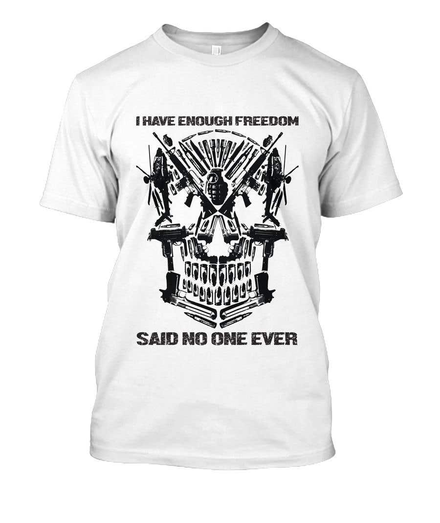 Proposition n°5 du concours We Need a T-Shirt Design - Patriotic Theme