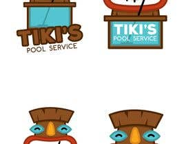 #57 for Tiki's Pool Service by FVinas