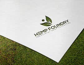 #237 untuk Logo for Hemp Foundry - Industrial Hemp Extractor Manufacturer oleh jearinakter4
