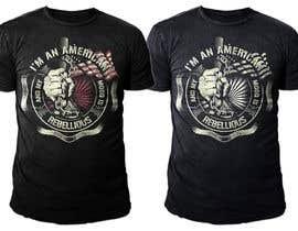 nº 19 pour We Need an Original Design for a T Shirt - Patriotic theme - Guaranteed Contest par SamuelMing