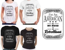 nº 15 pour We Need an Original Design for a T Shirt - Patriotic theme - Guaranteed Contest par ronjurin