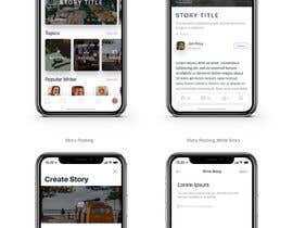 Nro 18 kilpailuun Create mockups for Story Telling Mobile App käyttäjältä jeniroxy