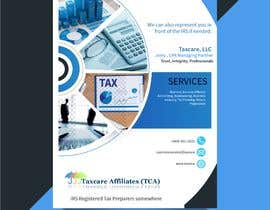 #6 для design double sided flyer - taxcare от rrtvirus
