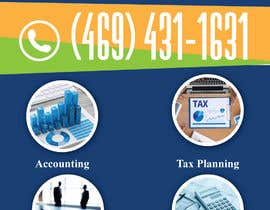 #7 для design double sided flyer - taxcare от twodnamara