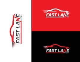 #90 для Fast Lane Automotive Logo Design от Design4cmyk