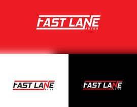 #93 для Fast Lane Automotive Logo Design от Design4cmyk