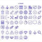 Graphic Design Kilpailutyö #24 kilpailuun Build me a new suite of Icons