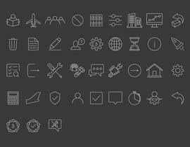 Nro 28 kilpailuun Build me a new suite of Icons käyttäjältä smizaan