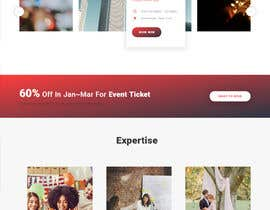 #43 for Design homepage Ticketing for events by TilokPaul
