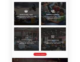 #40 for Design homepage Ticketing for events by shamrat42
