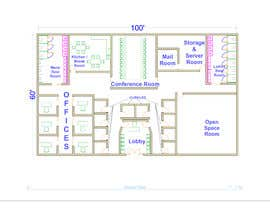 #33 for Design an Office Building Floorplan by modeleSKETCH