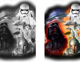 #13 cho Star Wars Tattoo Sleeve Design/Composition bởi pherval