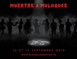 #40 for Design a poster for a murder dinner by medazizbkh