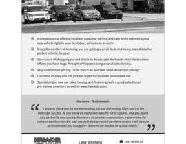 #2 para I need a one page advertisement put together por dnamalraj